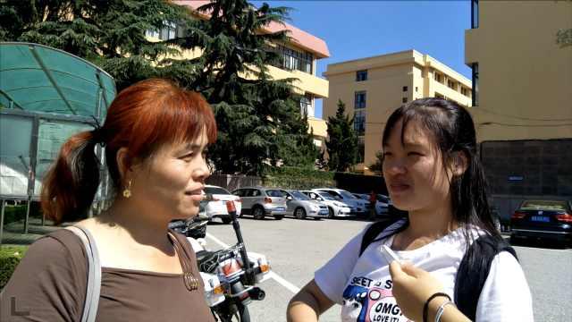上大学第一次离家,女生泪别妈妈