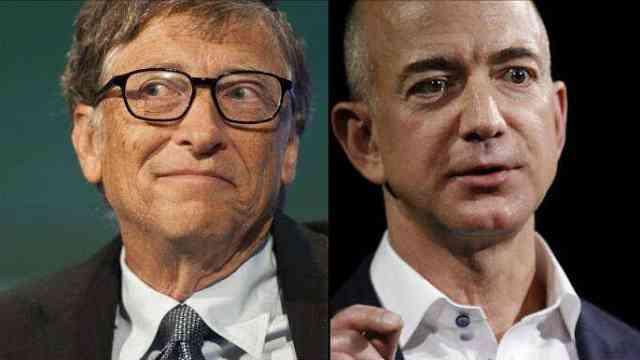 全球新旧首富做邻居:这可不是巧合