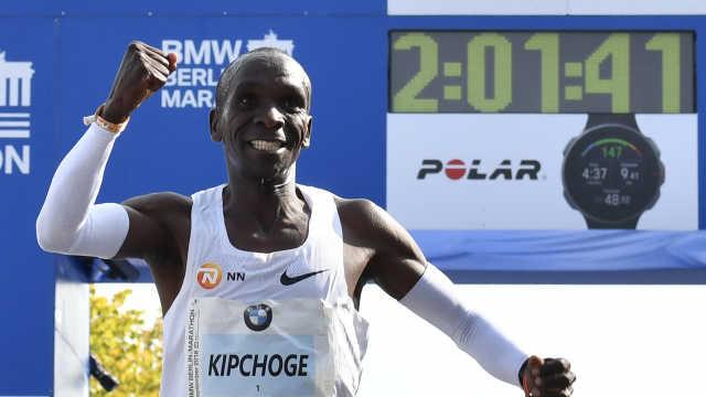 人类伟大!非洲名将刷新马拉松纪录