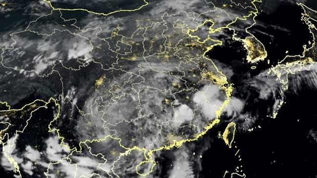中国卫星实时监控:山竹已渐渐消散