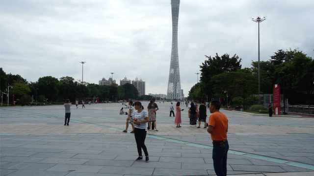 贵州游客来广州:对台风印象最深刻