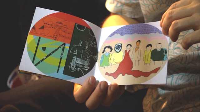 情侣创作恋爱画册:记录异地每一天