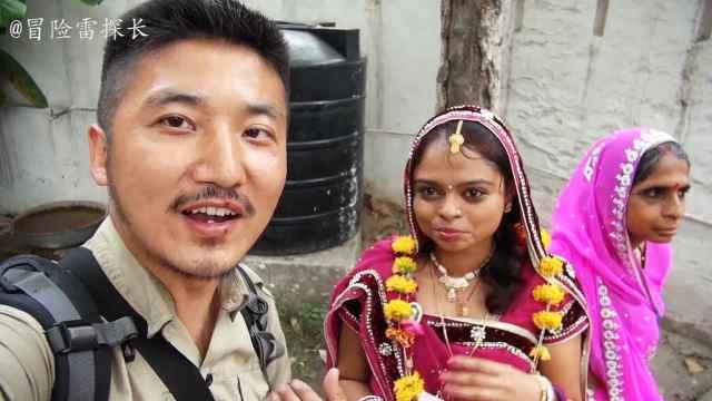 热闹非凡的印度婚礼