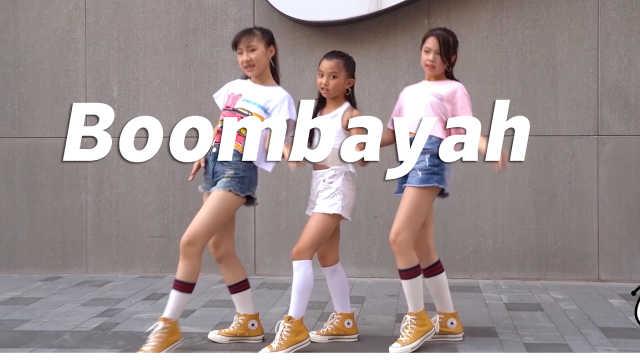 少儿女团翻跳《Boombayah》