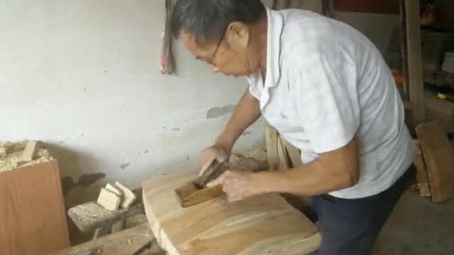 7旬木匠做寿材50年,忧心手艺会失传