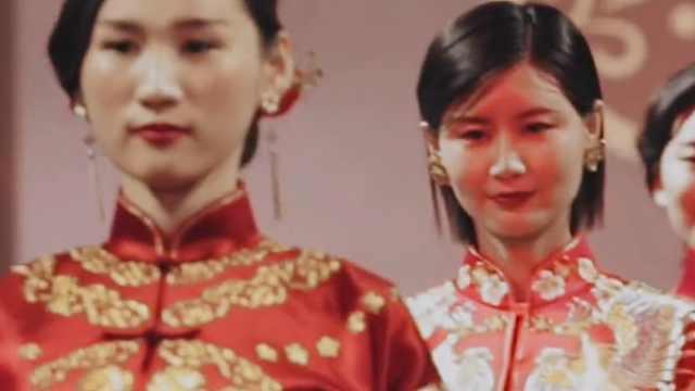中国红,匠人心,嫁衣美