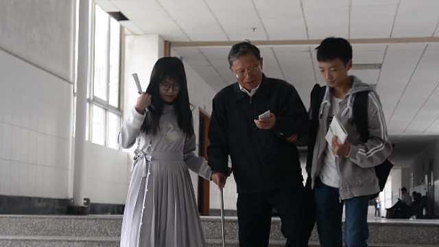 中南大学退休教授返校:现在不一样