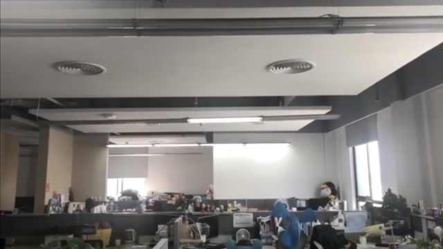 台湾地震福建有震感:灯管晃不停