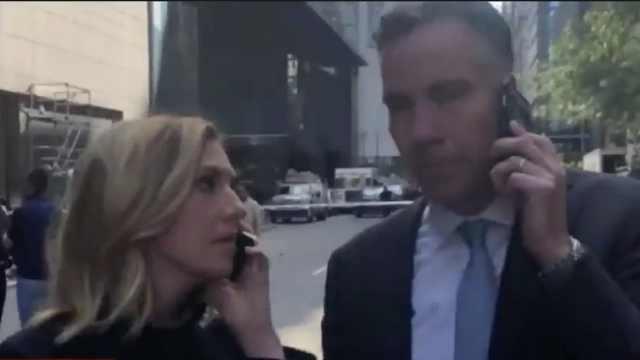 CNN直播途中响起警报,主持人撤离