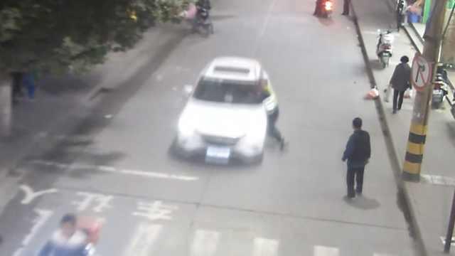 司机酒驾遇查心虚,竟拖行交警150米