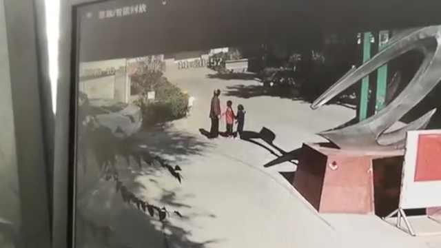 寿光2幼童被陌生老太带走?警方辟谣