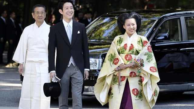 绚子公主今嫁平民,收1亿结婚礼金