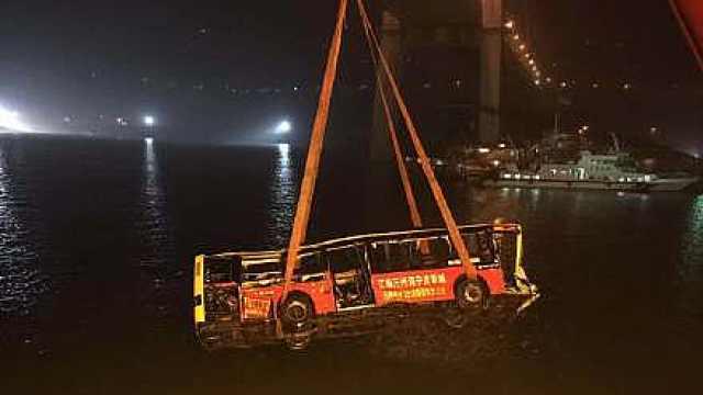 重庆万州坠江公交坠江后的85个小时