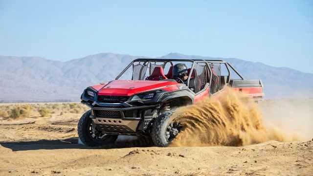 被本田称为旗下终极越野车的概念车