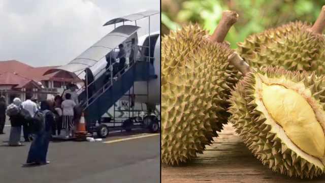 榴莲味太难闻!乘客抱怨致飞机延误