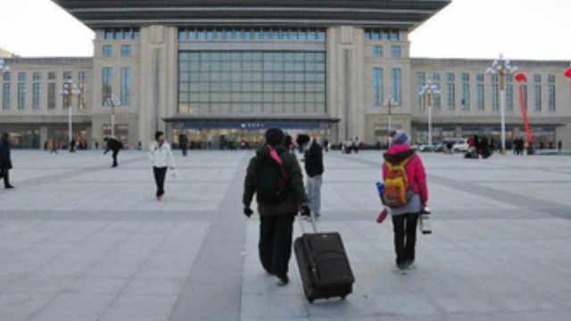 火车站前那么大一块空地是干嘛用的