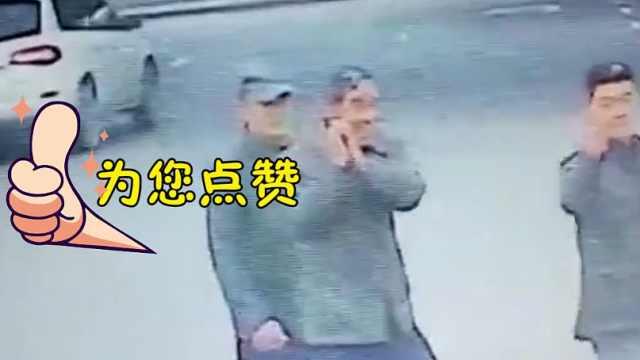 猛犸视频丨郑州公交车长礼让斑马线