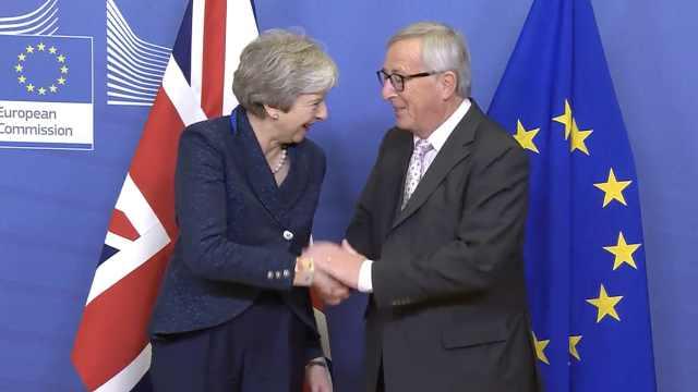 欧盟27国一致通过英国脱欧协议草案