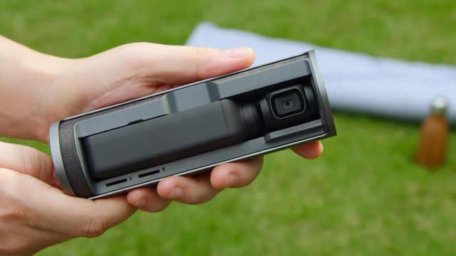 大疆发布OSMO口袋云台相机