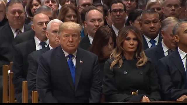 ABC直播开玩笑:川普葬礼将史无前例