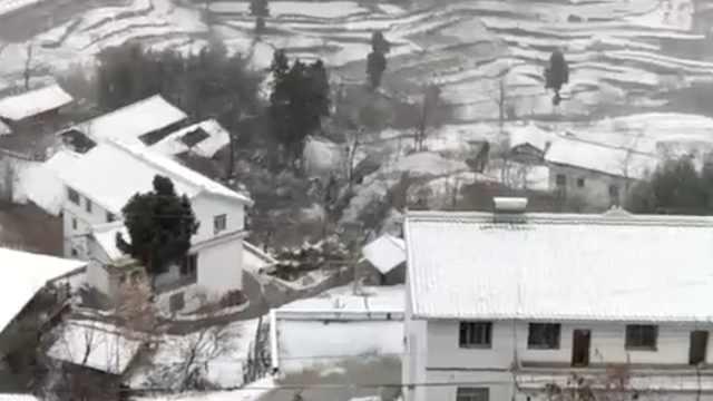 大雪高调登场!四川多地雪景如仙境