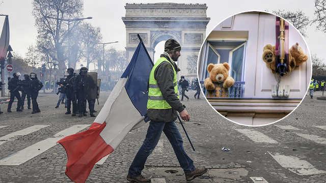 直播:巴黎危机!黄马甲第五轮大抗议