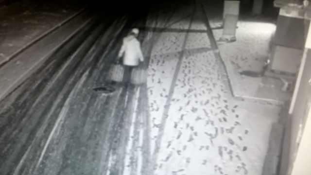 惯犯盗窃遇路人,扫门前积雪装店主