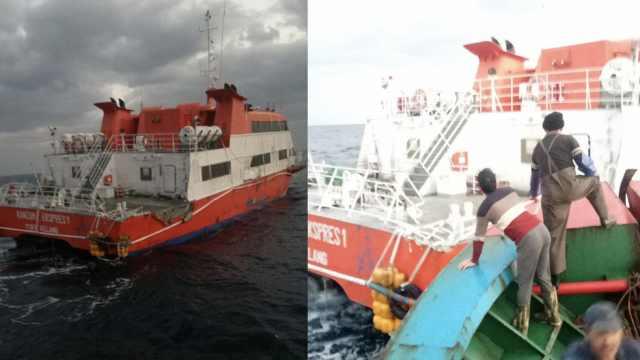渔民发现无人游轮:内部豪华,正拖回