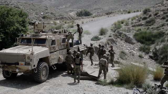 美媒:美军将从阿富汗撤走一半军队