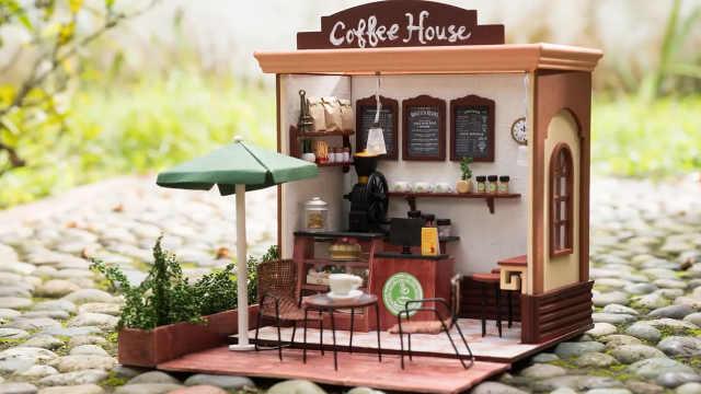 """DIY一家开在街角的""""咖啡店"""""""