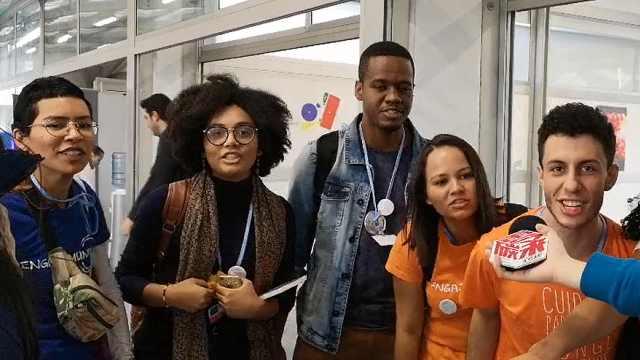 世界青年在COP:气候变化是骗局吗