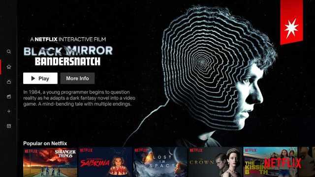 Netflix首试交互式作品:黑镜归来