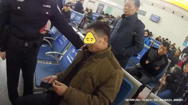 男子火车站吃药轻生:儿欠太多赌债