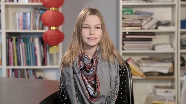 俄罗斯小姑娘:中国有时代表着未来
