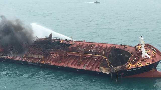 越南油轮香港水域爆炸,1船员遇难