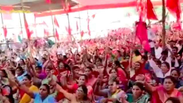 印度两亿人大罢工,银行交通大瘫痪