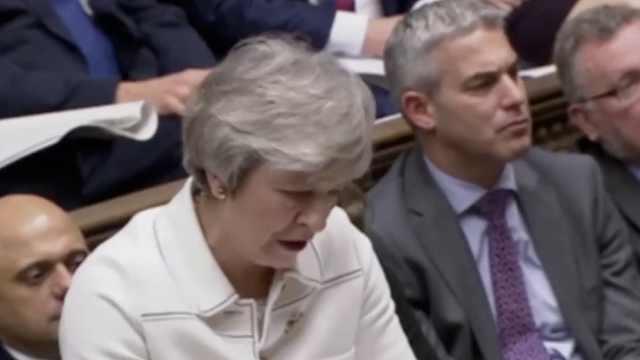 202:432,脱欧协议未获英议会通过