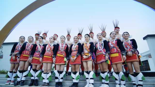 台湾少数民族同胞广西大秀舞技