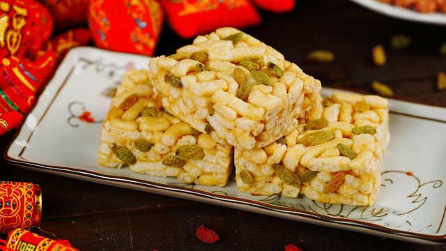 自制传统糕点沙琪玛