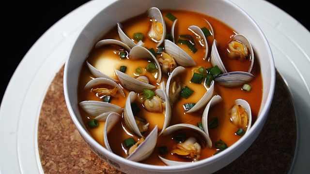 蛤蜊蒸蛋,鲜嫩爽滑有诀窍