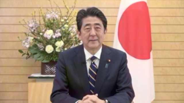 安倍中文拜年:欢迎大家到日本来玩