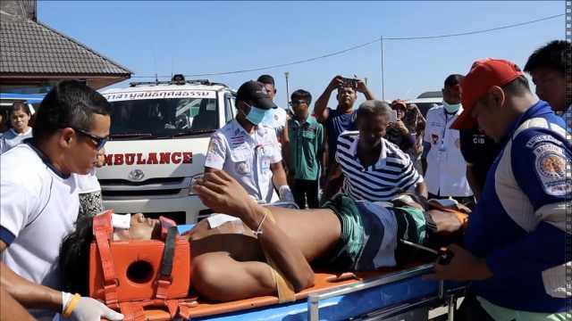 普吉岛快艇相撞7人伤,5名中国游客