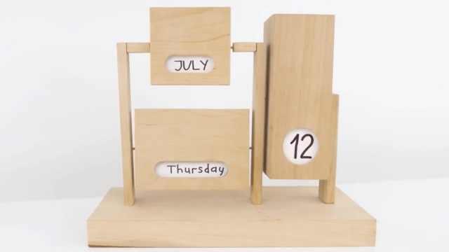 自己动手制作一个有趣的日历