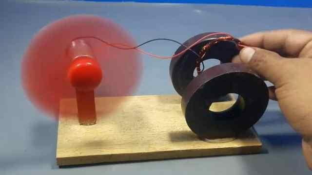 磁铁可以代替电池!真的假的?
