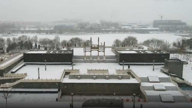涿州迎来2019年首次大规模降雪