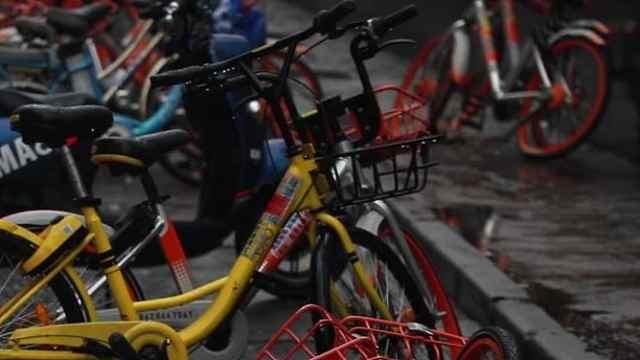 南京共享单车:ofo缩减,青桔来了
