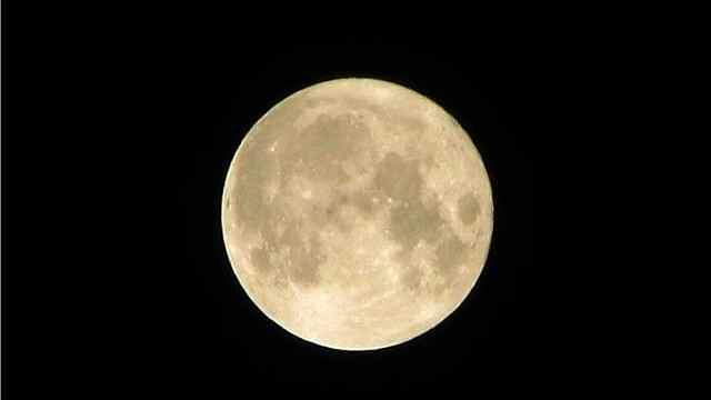 本年度最大最圆月将于今夜现身