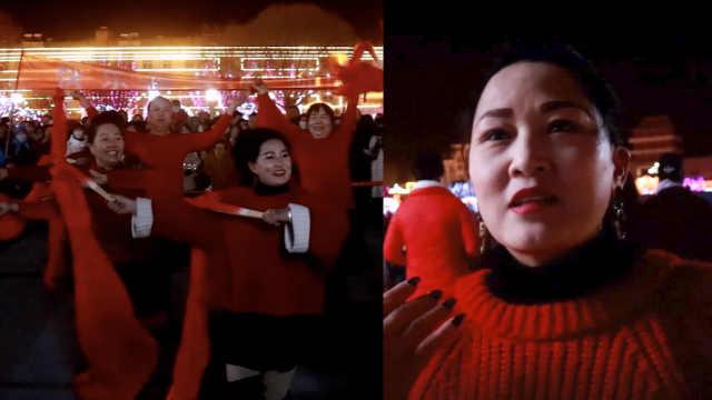 她表演18个节目闹元宵:跳舞治好病