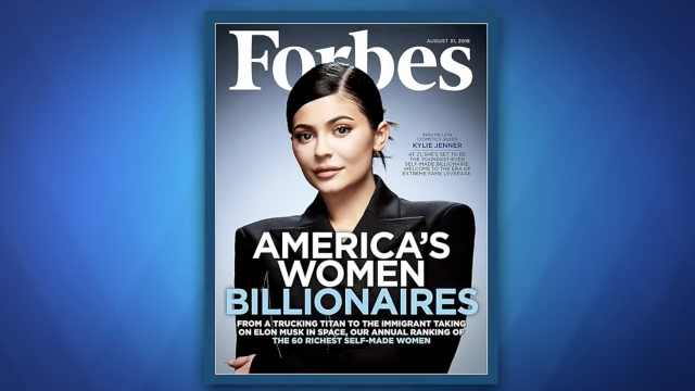 她成为史上最年轻白手起家亿万富翁