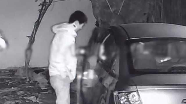 男子只開過拖拉機,偷車練習時被抓